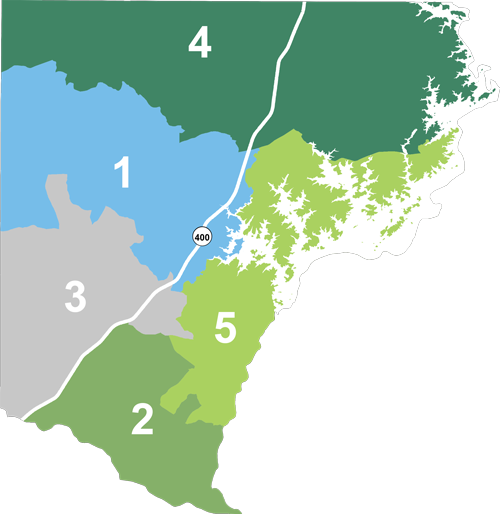 image of commissioner districts